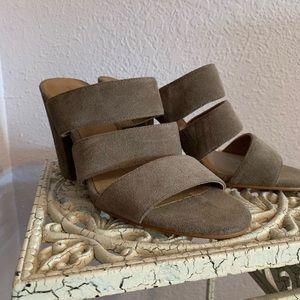 Lucky Brand strapless heels